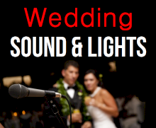 Rent Wedding Ceremony Reception P.A. Sound System Wireless Microphone | Phoenix Arizona
