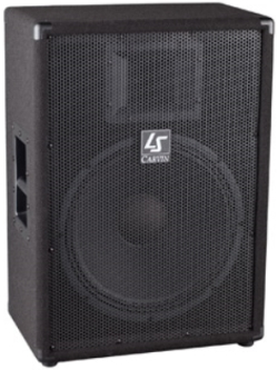 carvin speakers ls1502 p.a. rental