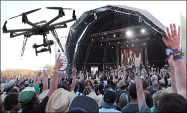Event Trend Watch - The Growing Use of Drones at Events