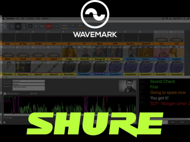 Shure Announces Strategic Investment In Software Company Wavemark - Strengthening Focus On Solutions For Broadcast, Theater, And Content Streaming Applications