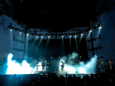 Will Chandler Reflects Coachella Setting For Bob Moses With CHAUVET Professional