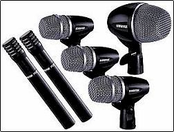 Rent Shure PG 6-Piece Drum Microphone Kit Phoenix Arizona AZ