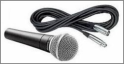 Rent Shure SM58 Vocal Microphone Phoenix Arizona AZ